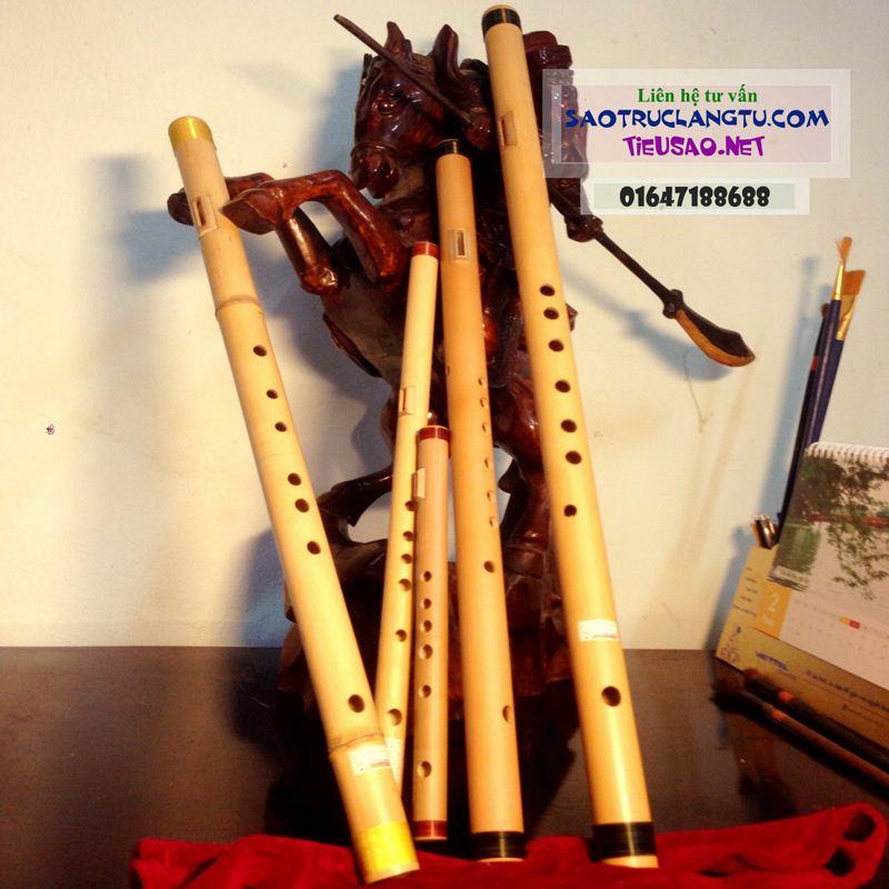 Sáo chầu văn - sáo hát văn - sáo trúc nứa cao cấp